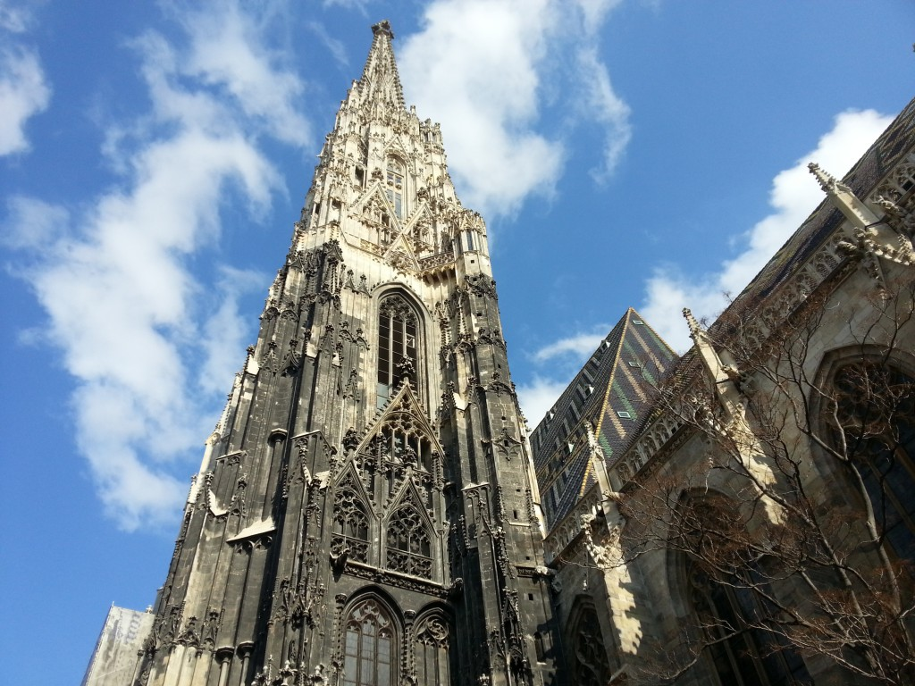 St. Steven's Cathedral; Vienna, Austria; photo courtesy of Sabine Saway, ISO Director