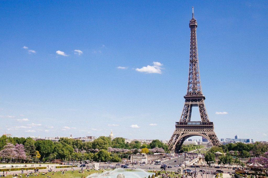Eiffel Tower Paris France Landmark