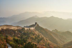 Great Wall Mountain Sunset