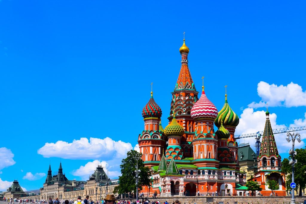 Moscow St Basile Red Square Church